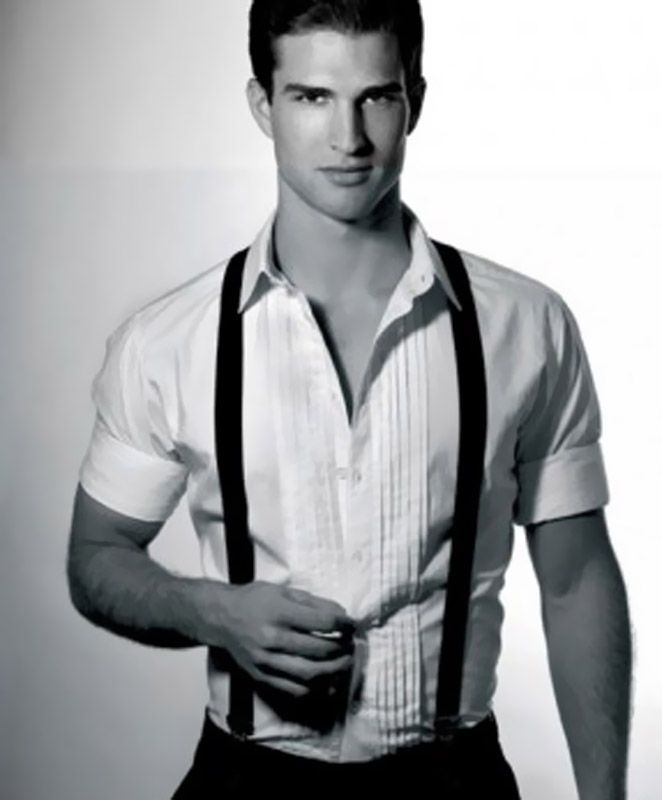 24 Best Images About White Shirt Rolled Up Sleeves Hot
