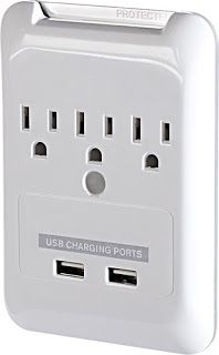 Outlet with USB charging port (Best Buy)