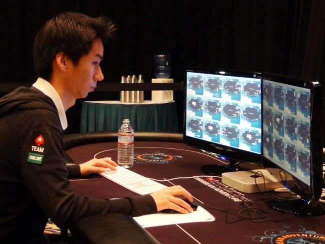 Randy Lew is a famous multi-tabler when it comes to online poker.. This is his breaking the multi tabling world record