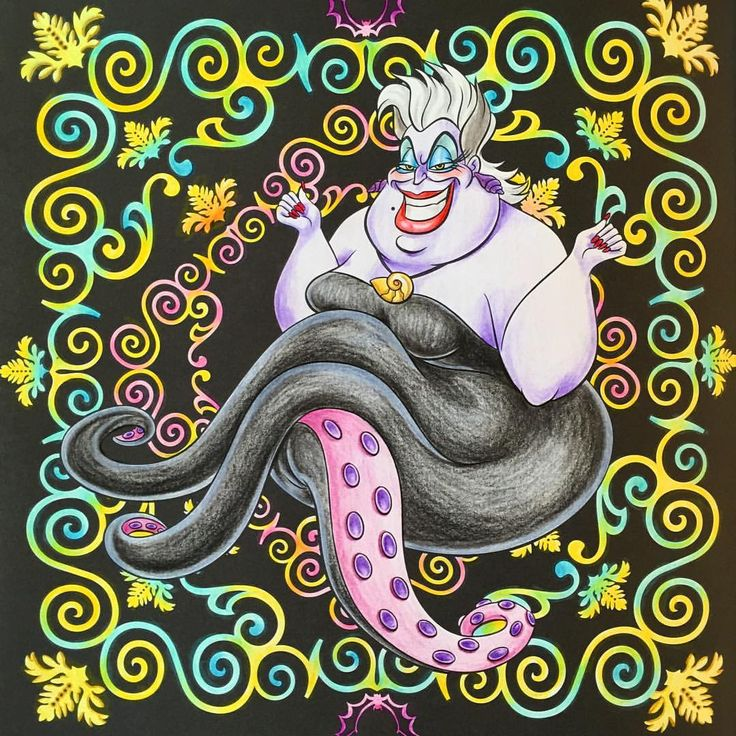 ✏︎✏︎✏︎2016.1.17.sun . . いつかのディズニーハロウィン ♩アスラスラスラスラスラー♩ が頭の中に流れておりました。 アースラのポーズ可愛いww . . オムライス作って 出掛けるぞー!!! . . #大人の塗り絵 #ぬりえ #ぬり絵 #塗り絵 #コロリアージュ #クーピー #色鉛筆 #disney #ディズニーガールズ #ディズニープリンセス #ディズニーガールズカラーリングブック #リトルマーメイド #アースラ#ヴィランズ #thelittlemermaid #ursura #villains #塗り絵の記録 #自己満 . .