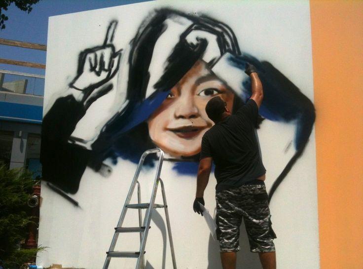 Πάρε μια γεύση από το Street Art Festival που άρχισε στη Θεσσαλονίκη - http://ipop.gr/themata/vgainw/pare-mia-gefsi-apo-to-street-art-festival-pou-archise-sti-thessaloniki/