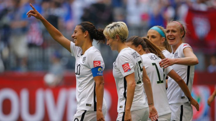 It's time to pay — literally. Stars of the U.S. Women's National Soccer Team File Federal Complaint Over Wage Discrimination.