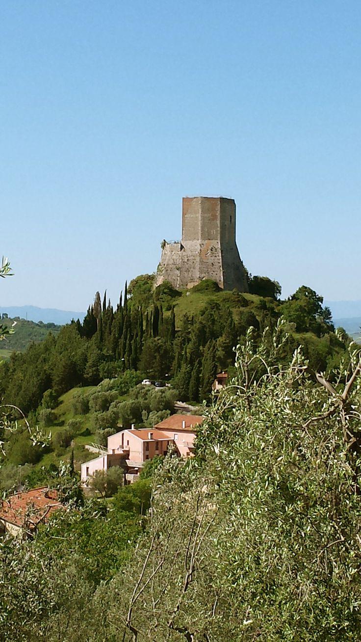 Fortress of Tentennano, Castiglione d'Orcia