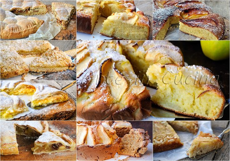 Torte di mele ricette semplici raccolta vickyart arte in cucina