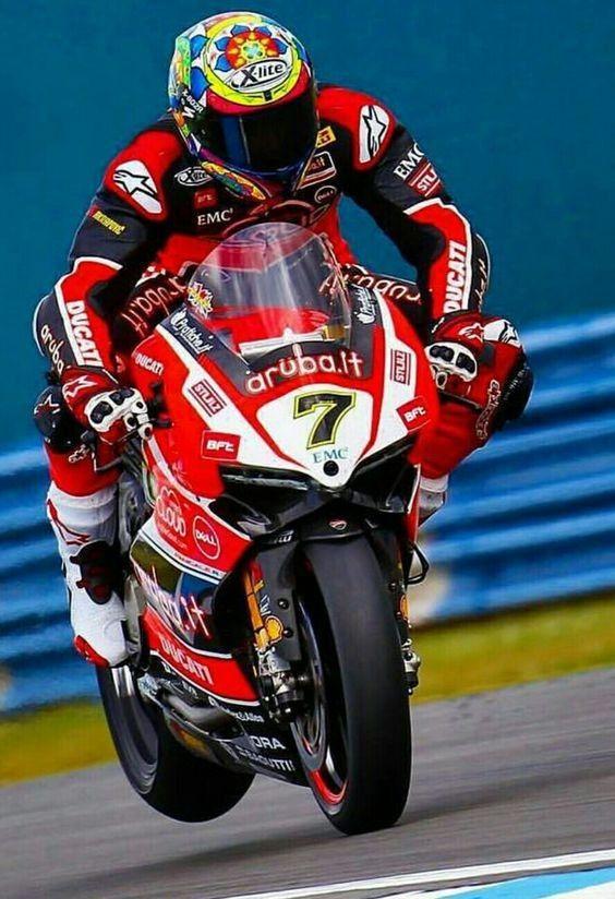 Chaz Davies - Ducati Panigale R - WSBK Donington Park/UK - 2017