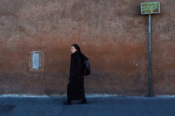 A nun in Rome