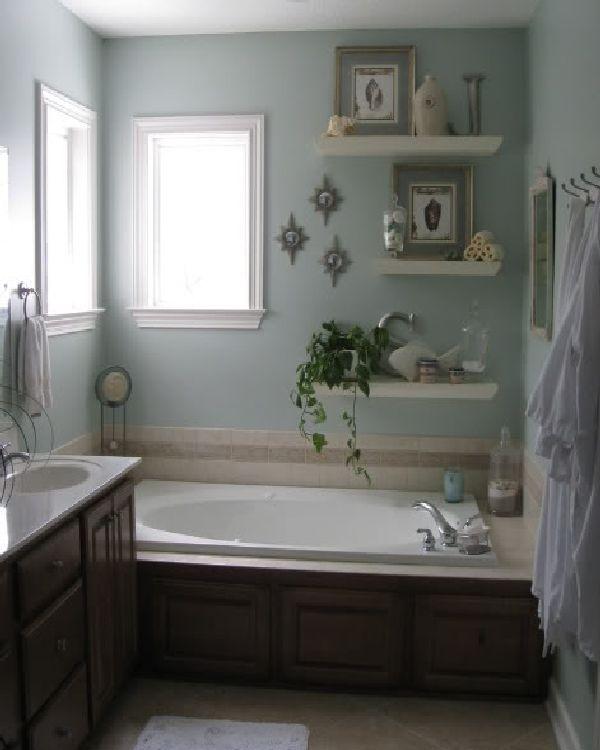 Bathroom shelving idea