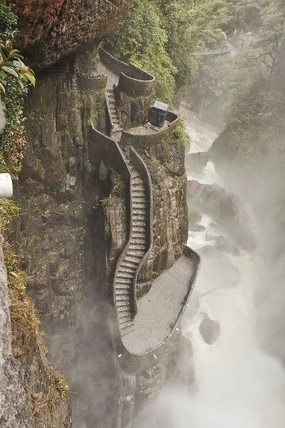 Wonderful Places -Pailón del Diablo - Ecuador