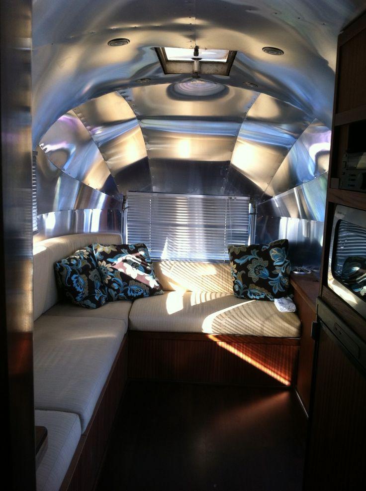 30 best airstream interiors images on pinterest   airstream