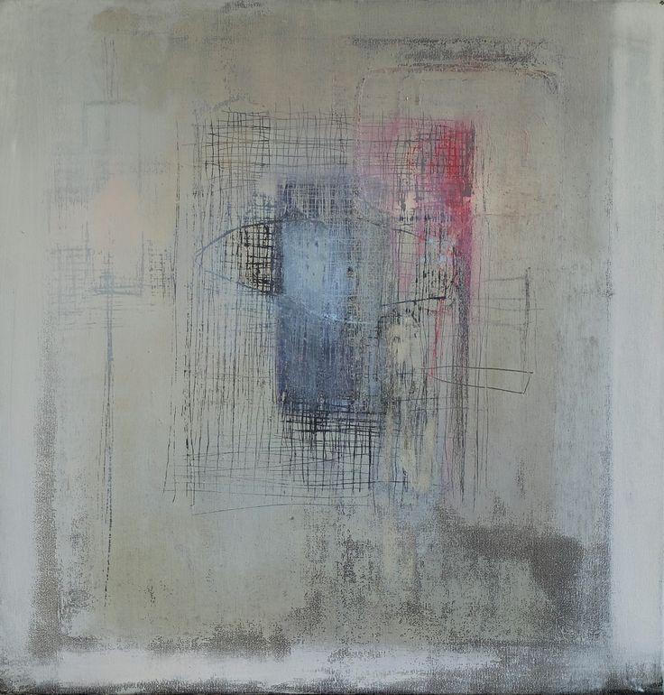 Mała depersonalizacja, Little Depersonalization, oil on canvas, 2012, 55x53 cm