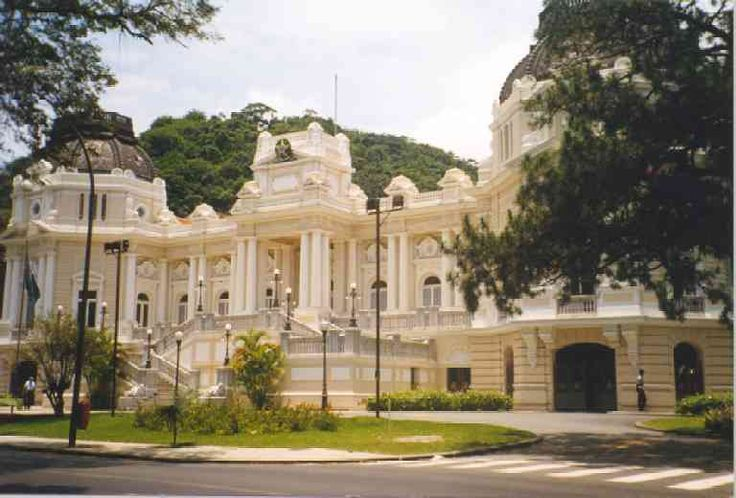 Palácio Guanabara, Rio de Janeiro, Brasil. Former palace of the Imperial Princess, now governor's office; eclectic architecture; not open to public (in Laranjeiras).