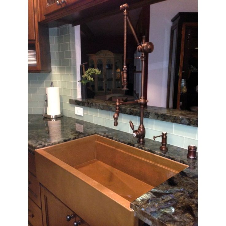 4410 18 Towson Gantry Kitchen Faucet Steampunk Kitchen
