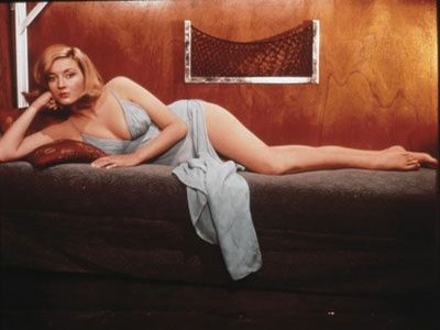 "Daniela Bianchi Bond girl in the 1963 James Bond film ""From Russia with Love,"""