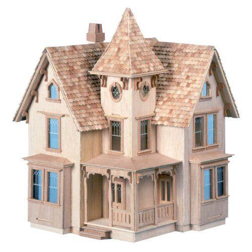 Best 25 dollhouse kits ideas on pinterest for Victorian kit homes