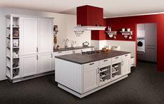 KeukenDeal - 33N - Mega landelijke nostalgische kookeiland keuken, geheel compleet, inclusief Montage