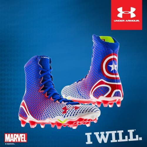 blue under armour cleats