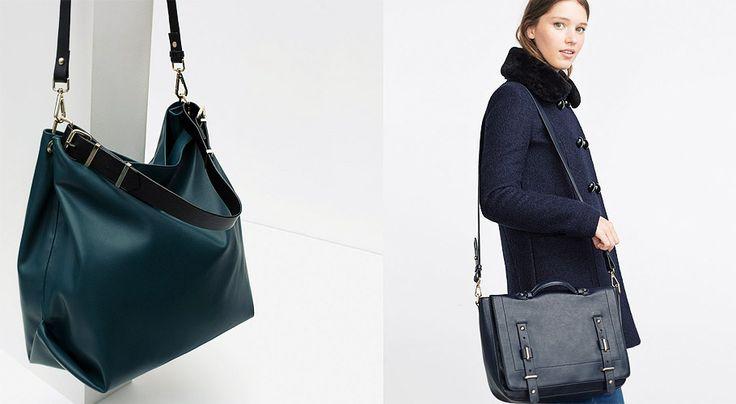 Bolsos Zara TRF Otoño-Invierno 2015 - http://www.bezzia.com/bolsos-zara-trf-otono-invierno-2015/