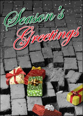 Pave the way for increased sales with Paving Contractor Holiday Cards.