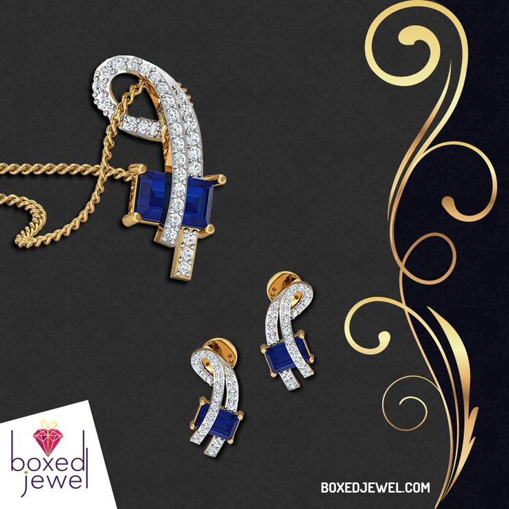 Free 1st year Complimentary #Insurance on Every Jewel you Purchase. Buy Jewels Carefree from www.boxedjewel.com. #Pendants #Earrings