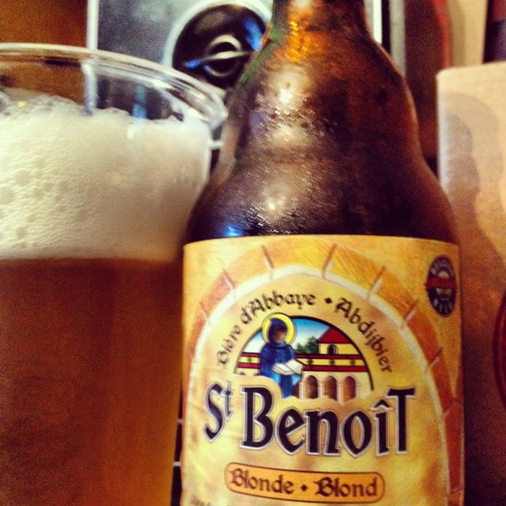 St. Benoît Blonde  Brewed by Brasserie Du Bocq Style: Belgian Ale Purnode-Yvoir, Belgium