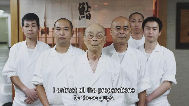 Jiro Dreams of Sushi (Touching Moment)