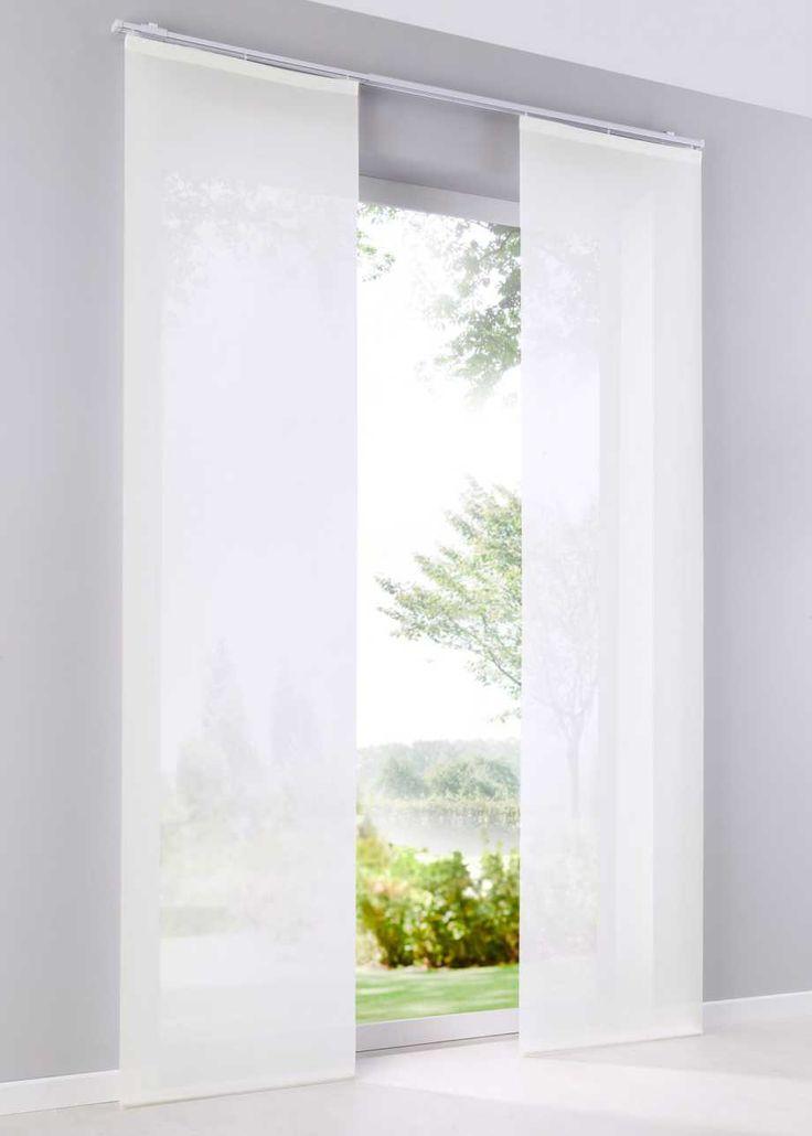 schiebegardine saros 1er pack bpc living gardinen pinterest gardinen schiebegardine. Black Bedroom Furniture Sets. Home Design Ideas