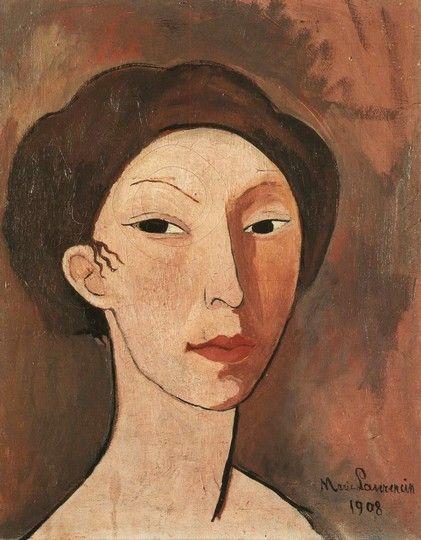 자화상 (1908) / 마리 로랑생의 자화상