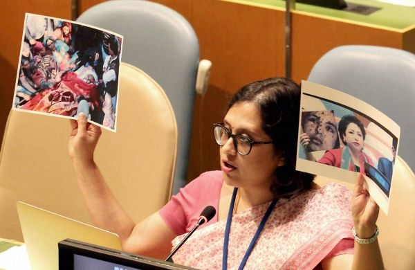 Pakistan used fake photograph to push a completely false narrative on Kashmir India in United Nations - The New Indian Express #757Live