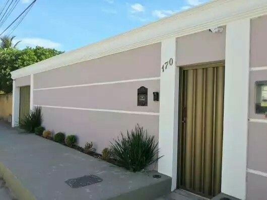 17 mejores ideas sobre fachada de muro residencial en for Cerramientos de jardines y casas