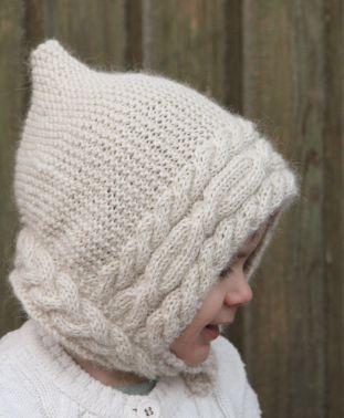 Wintry bonnet by Pipo&mitten ~ Pipo&mitten talvinen hilkka