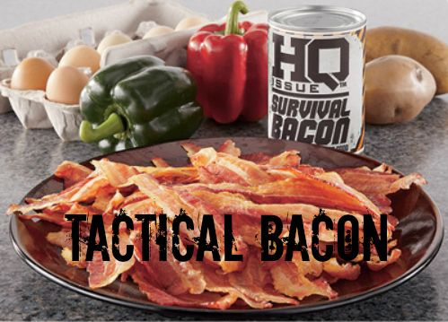 Survival Bacon - For Unexpected Bacon Deficiencies