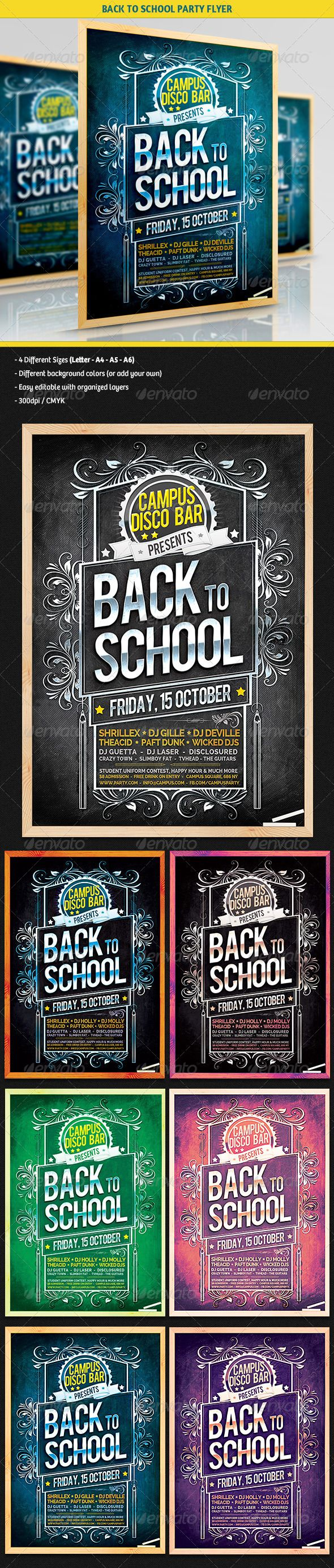 1000 images about college party flyers on pinterest fonts flyer template and back to school