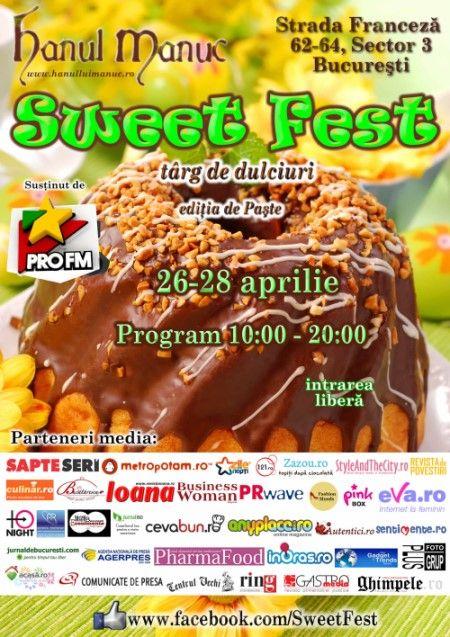 Sweet fest, festival dulce de Paste 2013