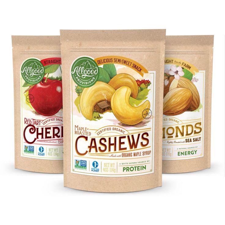Dried Fruit & Nuts Packaging | Moxie Sozo