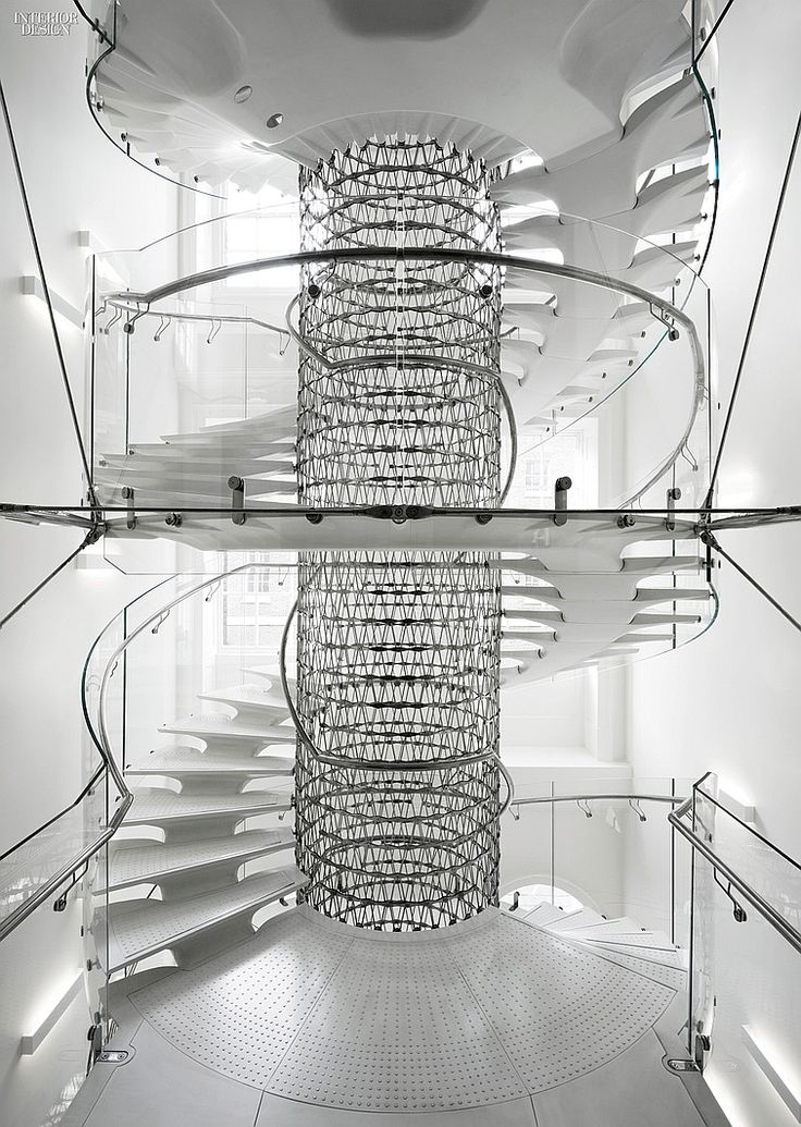 Eva Jiricna's UHPC Stairs for London's Somerset House   Projects   Interior Design