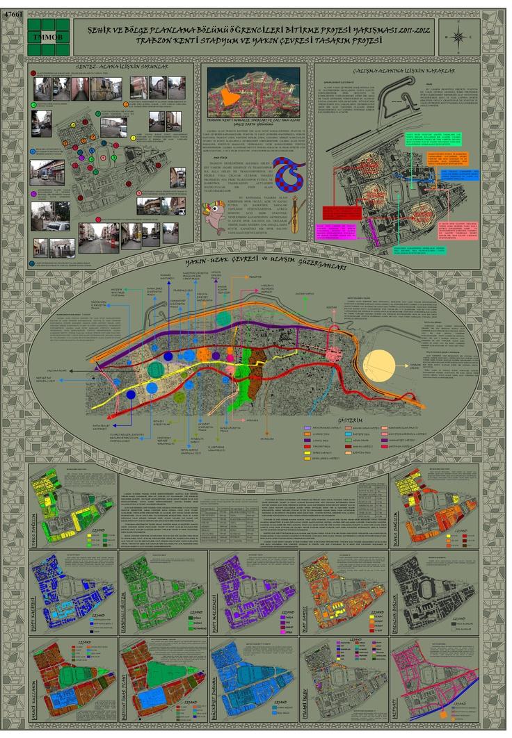Şehir ve Bölge Planlama Bölümü Öğrencileri Bitirme Projesi Yarışması 2011- 2012 1 Nolu Pafta [jans'ın istediği renk]