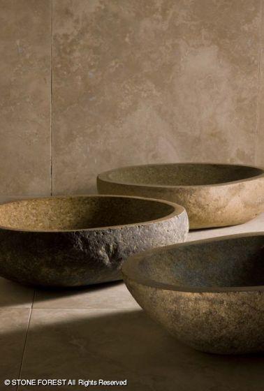 Natural Sinks: Pebble Vessel