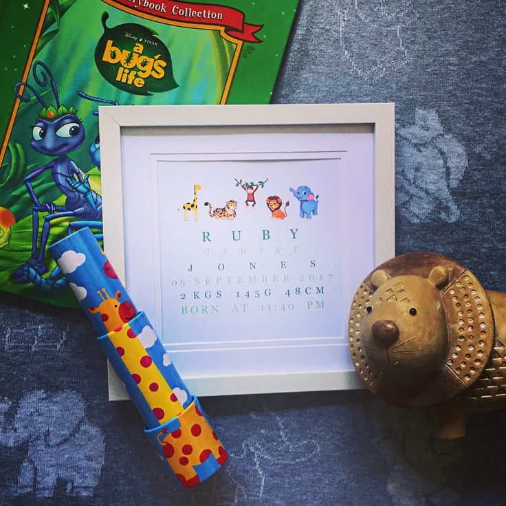 35 best BabyCusch Personalised Baby Frames images on Pinterest