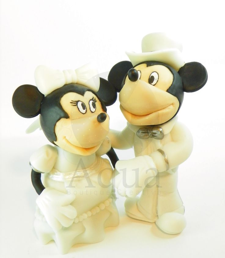 mickey and minnie topper de torta