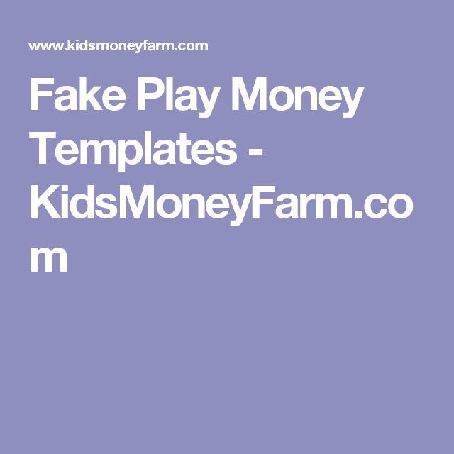 The 25+ best Money template ideas on Pinterest Play money - play money template