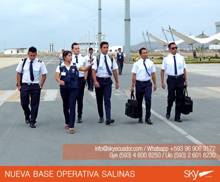 Ellos ya iniciaron su etapa de vuelo desde #Salinas,  tu puedes ser el próximo!   Fórmate como Piloto Comercial en #Ecuador !  Siguiente curso: #Quito - FEBRERO / MATRICULAS ABIERTAS  #Guayaquil - FEBRERO / MATRICULAS ABIERTAS #Salinas - FEBRERO /MATRICULAS ABIERTAS    Para mayor información escríbenos a: info@skyecuador.com o mensajes WhatsApp 096 906 3172  Teléfonos:  02 601-8230 #Quito  04 600 8250 #Guayaquil http://goo.gl/H7U4mN