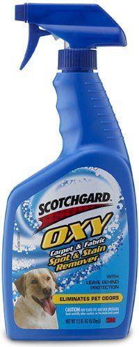 Scotchgard Oxy Pet Carpet and Fabric Spot Remover, 22-Oun