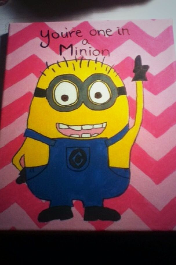 You're one in a minion craft