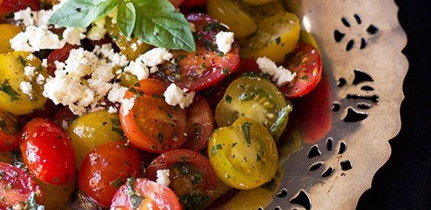 recipes, salad, tomatoes