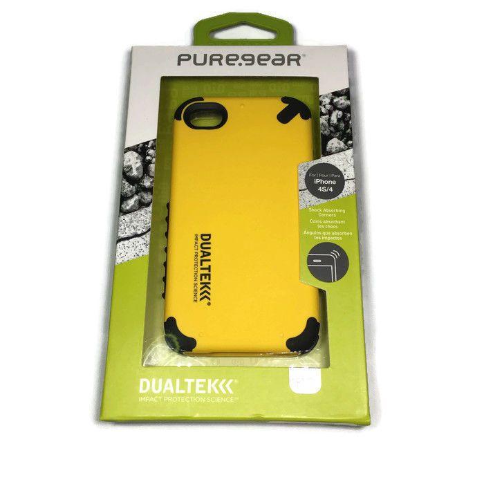 PureGear DualTek Extreme Shock Case for iPhone 4S/4 - Kayak Yellow #PureGear