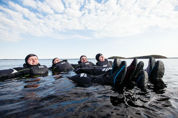 Floating in Lake Saimaa (Lappeenranta & Imatra region) Picture by: goSaimaa.com/Mikko Nikkinen
