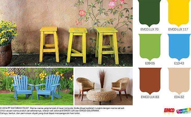 Warna-Warna Alam, Inspirasi Tak Terbatas #Future #Color http://matarampaint.com/detailNews.php?n=266
