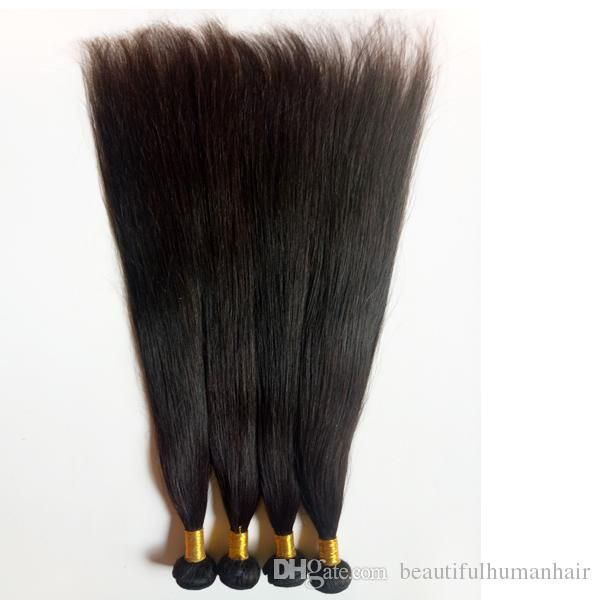 Brazilian Human Hair Weaves Weft Straight Cheap 8 26inch Natural Color Best Quality 3 4 Indian Human Hair Extensions Double Weft Hair Extensions Weaves Remy Hair Weave From Beautifulhumanhair, $86.57| DHgate.Com