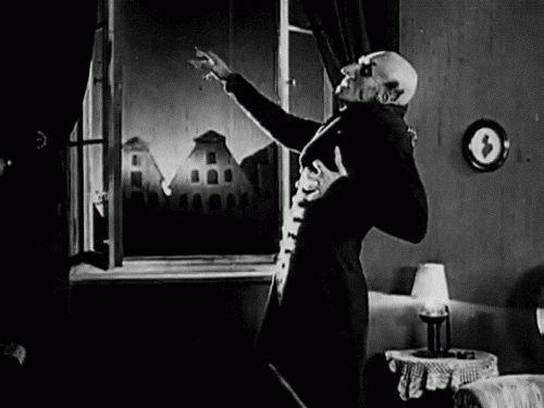 """F.W. Murnau """"Nosferatu"""" (1922)"""