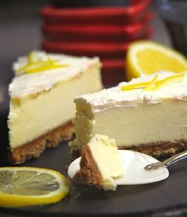 Cheesecake au citron, sans cuisson